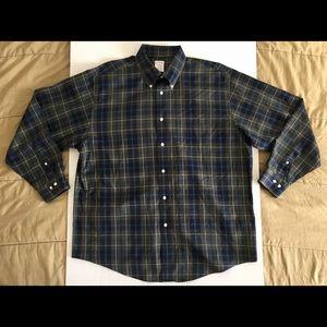 Brooks Brothers Madison Supima Non-Iron Shirt XL